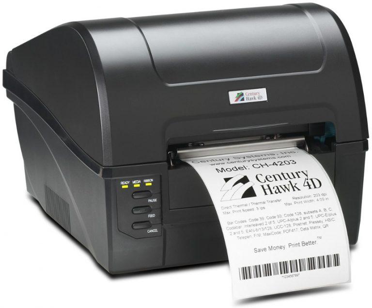Century Hawk 4D Barcode Printer, CH-4203
