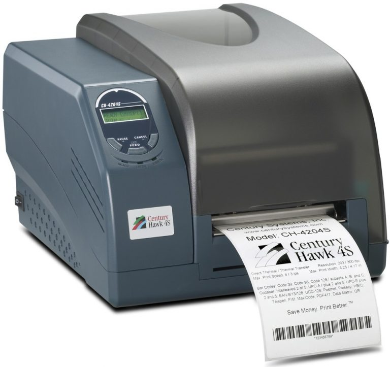 Century Hawk 4S Barcode Printer, CH-4204S