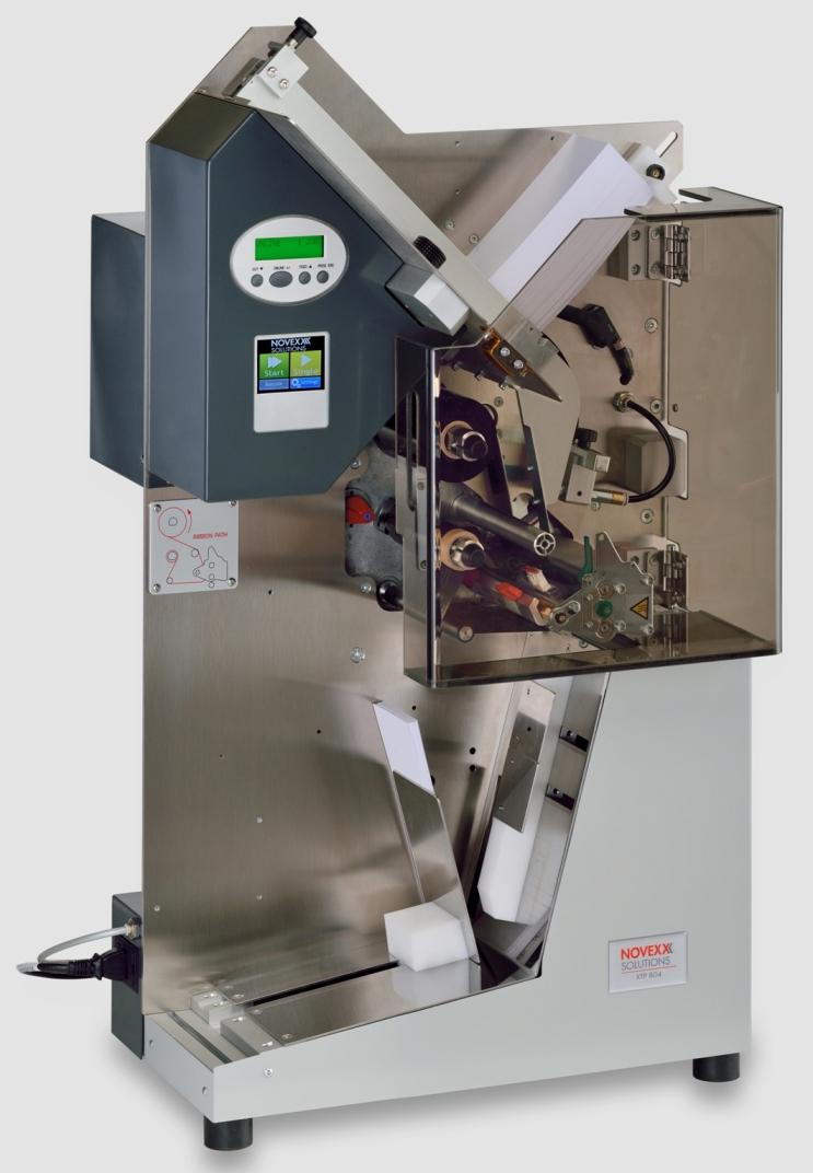 Novexx XTP 804 Automatic Single Tag Printer, XTP 804