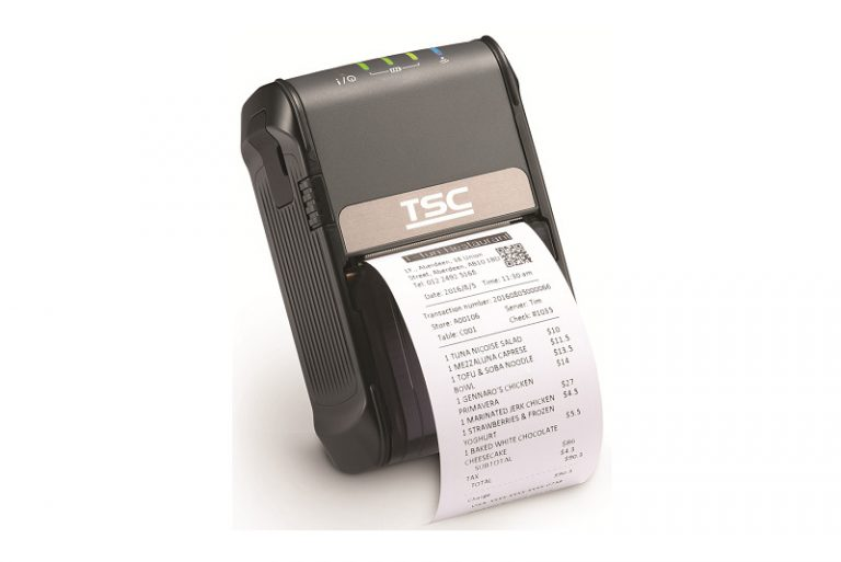 TSC Alpha 2R Mobile Printer, Alpha 2R