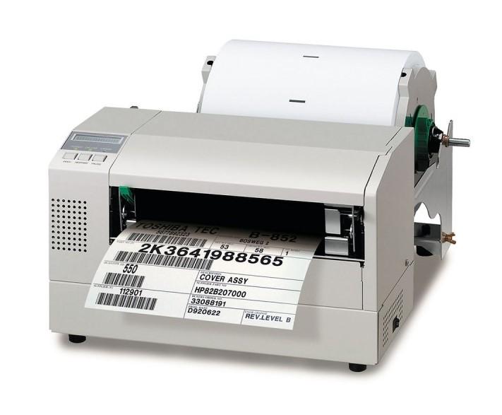 Toshiba B-852 Barcode Printer, B-852