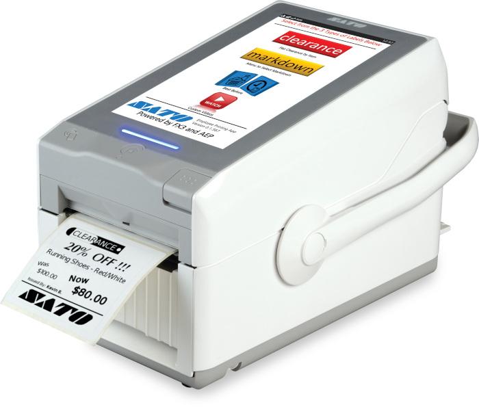 Sato FX3-LX Barcode Printer, FX3-LX