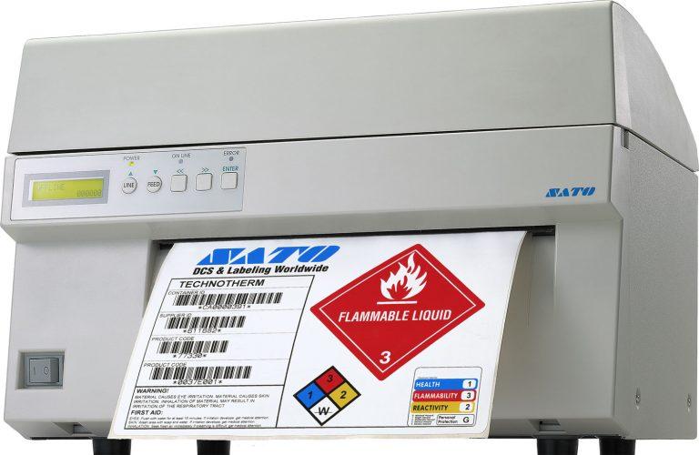 Sato M10e Barcode Printer, M10e