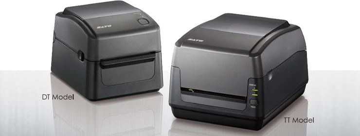 Sato WS4 Series Barcode Printer, WS408DT, WS408TT, WS412DT, WS412TT