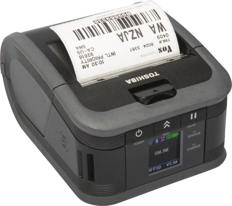Toshiba B-FP Series Mobile Printer, B-FP2D, B-FP3D